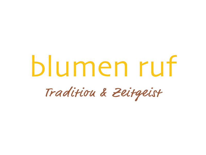 Logo Blumen Ruf
