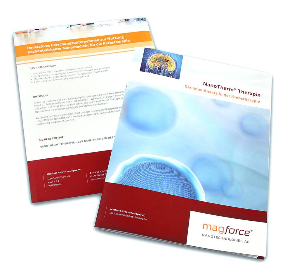Broschüre Nanotechnologie