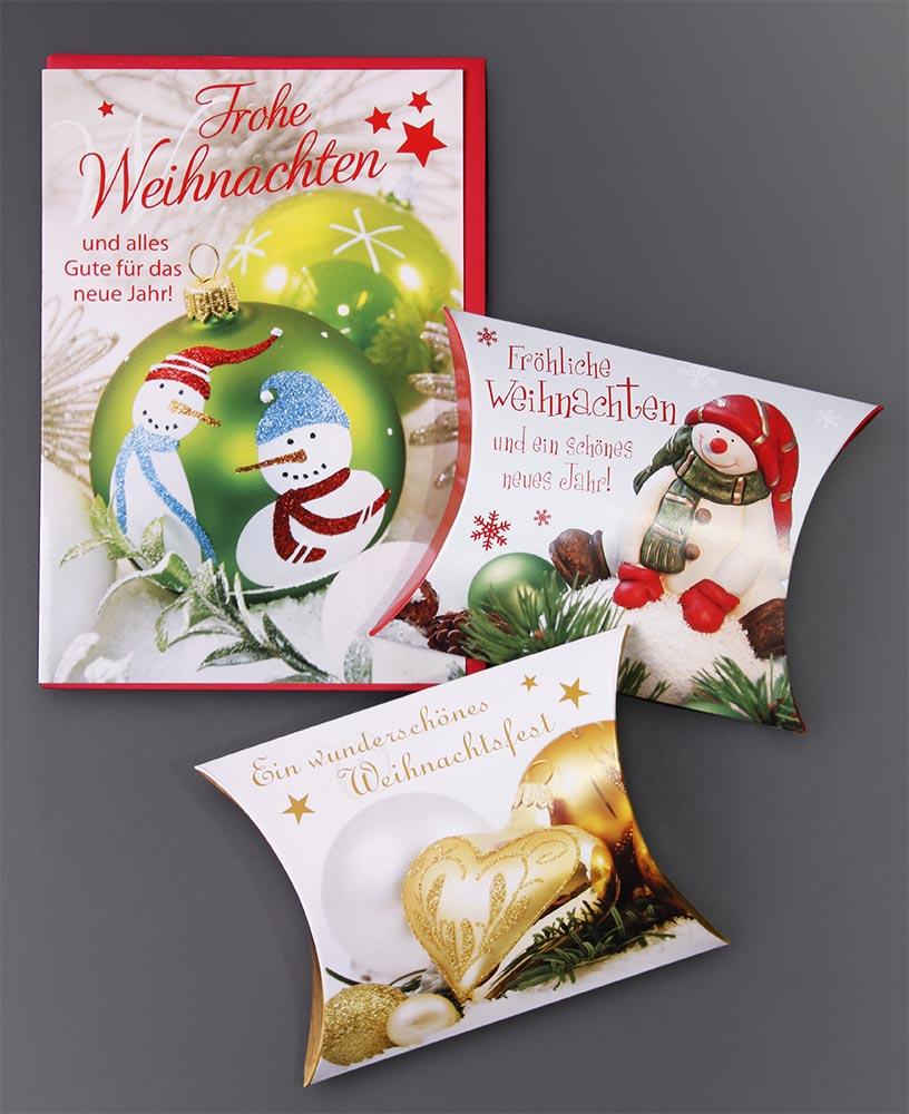 Fotos+Gestaltung Grusskarten Weihnachten